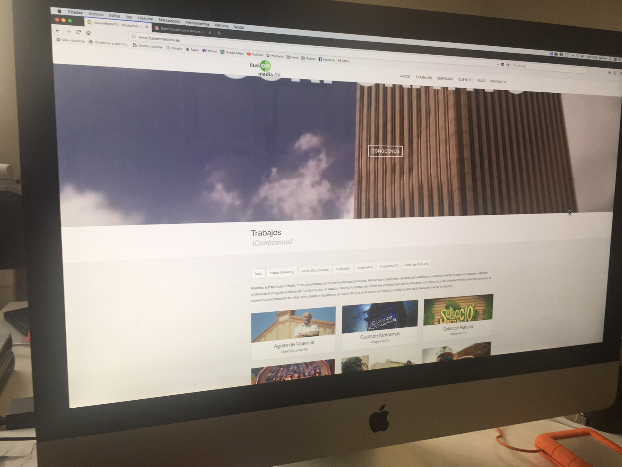 Conoce la nueva web de IlusionmediaTV